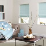 pale-blue-roman-blinds